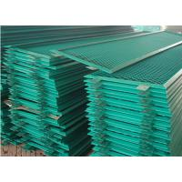 China PVC Spraying Stamping Aluminum Expanded Metal Mesh 0.5 Thickness For Security for sale