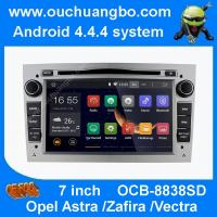Quality Ouchuangbo android 4.4 Opel Astra Zafira sliver colour capacitive canbus 3G WIFI for sale