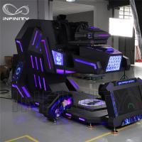 Buy cheap Vr Amusement Park Equipment Cockpit 360 Degree Vr Motion Racing Simulator Vr Car from wholesalers