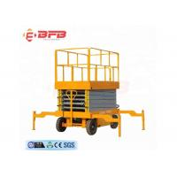Wholesale 1000kg towed scissor lift followed other trailer for cleaning from china suppliers