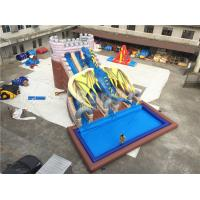 Wholesale Industrial Commercial Grade Dragon Big Inflatable Water Slides 15*11*8m Customized from china suppliers