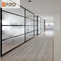 China Long Life Span Modern Office Partitions Powder Coated Surface Treatment on sale