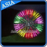 Popular Inflatable Zorb Ball , Glow Zorb Ball , Fluorescent Roller Ball for sale