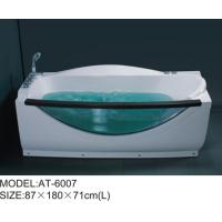 Buy cheap Plastic jaccuzi tub corner jetted bathtub for adults optional Air pump from Wholesalers