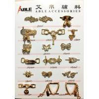 Wholesale Gold Ladies Metal Shoe Buckles Rhinestones Accessories Elaborated Design from china suppliers