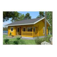 Wholesale Solid Summer Outdoor Wooden House 2-Bedroom Waterproof With Base Timber & Roofing from china suppliers
