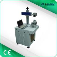China Metal Nameplate Marking Machine , Industrial Laser Marking Equipment Air Cooling on sale