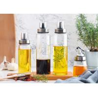 Wholesale High Borosilicate Decorative Glass Oil Bottles For Kitchen And Desk Use from china suppliers