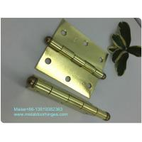 Heavy Duty Ball Tip Hinges , Loose Pin Hinges Light Weight Customized Size for sale