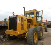 Wholesale Maintenanced Used CAT Grader , Caterpillar 14G Motor Grader No Oil Leakage from china suppliers