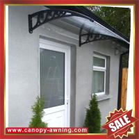 Quality excellent porch window door polycarbonate pc diy awning canopy canopies shelter for cottage house building garden home for sale