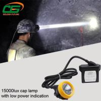 Wholesale Safety 1w Led Mining Cap Lamp Rechargeable 15000lux High Brightness from china suppliers