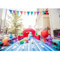 Wholesale Outdoor Giant Inflatable Toys Tropical Water Slide For Adult , Commercial Grade from china suppliers