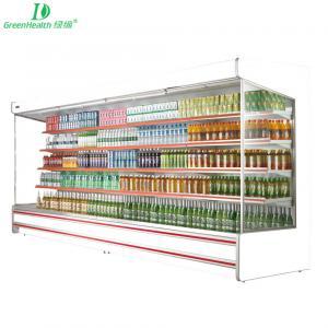 Buy cheap Modern Fan Cooling Open Chiller fridge for Beverage / Fruit / Vegetable from wholesalers