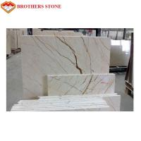 Wholesale Floor Decor Sofitel Gold Marble Stone Tile With Polished Surface Finishing from china suppliers