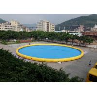 Wholesale Customized Family Large Inflatable Garden Swimming Pool For Blow Up Water Park from china suppliers