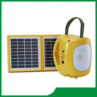 China Rechargeable solar LED lantern with mobile phone charger, low price led solar camping lantern sale on sale