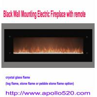 Wholesale Electric Crystal Glass Fireplace with remote control from china suppliers