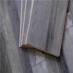 Buy cheap PVC Floor Carpet Oak cork wood 5mm high gloss Plastic Stone Composite flooring from wholesalers