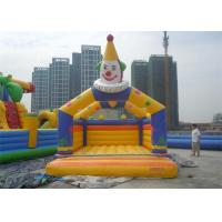 Wholesale Outdoor Durable Clown Jumping Inflatable Bouncer For Kids , EN14960 from china suppliers