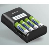 Wholesale 500mA 4 channel Negative delta V Control  Aa Battery Chargers with LCD display from china suppliers
