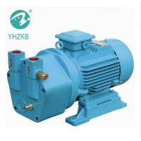 China 5hp single stage cast iron material liquid ring vacuum pump for medical package for sale