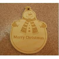 Wholesale snowman hanging tags Christmas tag wood gift tags for decoration from china suppliers