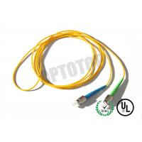 Wholesale 1F 1.6MM Custom Fc Fiber Patch Cord OS2 With Yellow Jacket , 85447000 HS Code from china suppliers