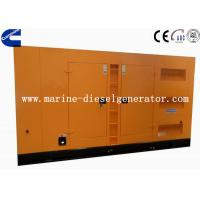 Wholesale 375KVA 1500rpm Silent Cummins Generator With AC Alternator Closed Radiator Cooling from china suppliers