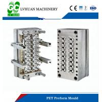 China High Durability PET Preform Mould , Plastic Bottle Injection Molding 16 Cavity on sale