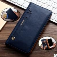 Buy cheap iPhone7 plus phone leather case buckle-free rotary adsorption card wallet from wholesalers