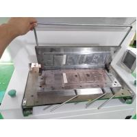 China CE Number Plate Embossing Machine , Number Plate Making Machine For 520mm Length on sale