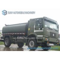 Wholesale SINOTRUK HOWO 4X4 Chemical Tanker Truck 12000 L Oil Tanker All Wheel Drive from china suppliers