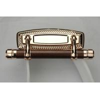 Wholesale Plastic And Metal Bar Casket Furniture Handle Gold , Silver Or Bronze Color from china suppliers