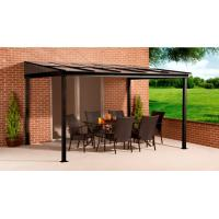 Buy cheap 10' x 12' ft Sun Shelter Wall Mounted PC Roof Alu With Mosquito Net Nylon Aluminium Patio Cover from wholesalers