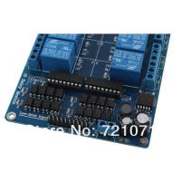 Quality 5V/12V 16 Channel Relay Module Interface Board For Arduino PIC ARM DSP PLC With Optocouple for sale