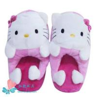 Wholesale Hello Kitty plush slipper from china suppliers