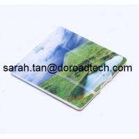 China Plastic Mini Square Card USB Flash Drives, Real Capacity USB Memory Sticks on sale