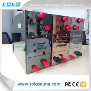 220V / 380V Sauna Steam Generator Steel Home 6 KW With Control Panel