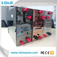 Buy cheap 220V / 380V Sauna Steam Generator Steel Home 6 KW With Control Panel from Wholesalers
