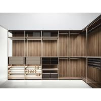 Wholesale Customized Wardrobe closet and Jewelry counters made by walnut laminate furniture and Stainless steel workshop from china suppliers