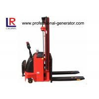 Wholesale Hydraulic Fork Lift Type 4.5m Height Electric Pallet Stacker Stepless Speed Change Battery from china suppliers