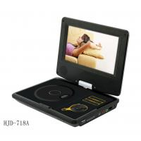 7inch led portable dvd player with tv mp3 mp4 radio usb sd of item 104236594. Black Bedroom Furniture Sets. Home Design Ideas