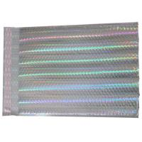 Wholesale Luxury Holographic Mailing Bags , #000 / 4x8 Shiny Color Padded Packing Envelopes from china suppliers