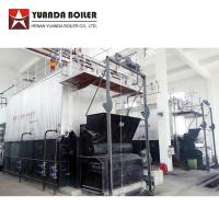 China Industrial Water Tube 10 Ton Biomass Bagasse Fired Steam Boiler For Sale for sale