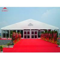 Wholesale Flame Retardant 25m Outdoor Event Tent With Lining Decoration For Cafe Shop from china suppliers