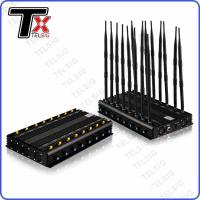 China 16 Antenna Cell Phone Signal Jammer Anti Bomb RF Blocker For GPS / Lojack / 2 / 3 / 4G on sale