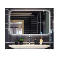 Buy cheap Square without frame wall hanging bathroom mirror hote led anti-fogging mirror from wholesalers