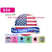 China USA Android IPTV Subscription Canada tv Antenna tv box For Android Box smart TV Box Free Test on sale