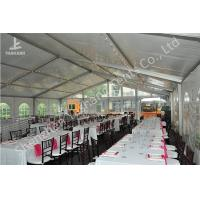 Wholesale Ultraviolet Resistant Aluminum Outdoor Party Tents Transparent PVC Fabric Cover from china suppliers